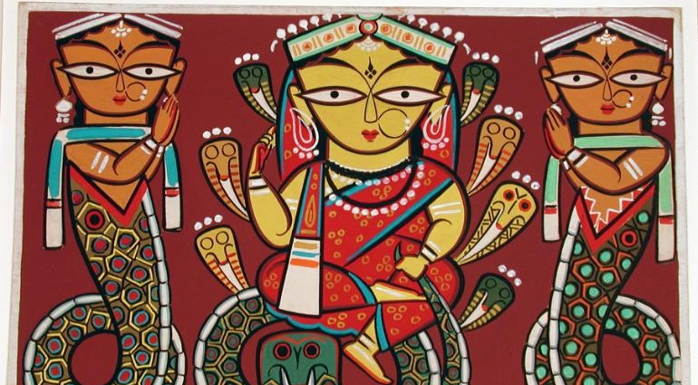 Durga Painting made by Jamini Roy